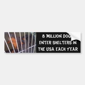 8 Million Dogs Bumper Sticker