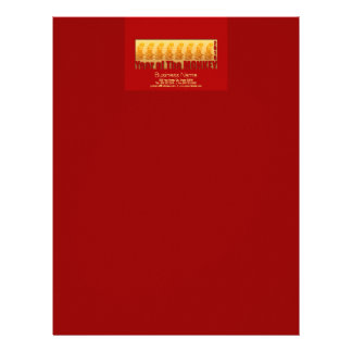 8 Monkeys for Chinese New Year 2016 Greeting 1 Letterhead
