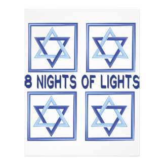8 Nights Lights Letterhead