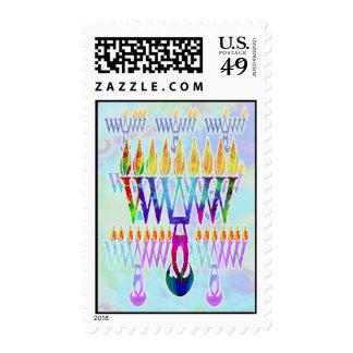 8 Nights Menorah Stamps