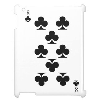 8 of Clubs Case For The iPad 2 3 4