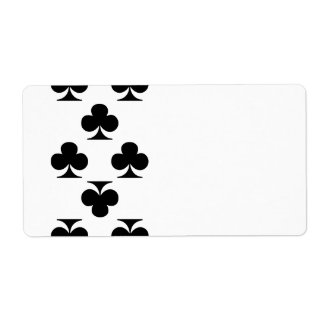 8 of Clubs Label