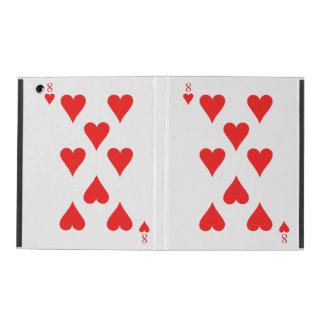 8 of Hearts iPad Cover