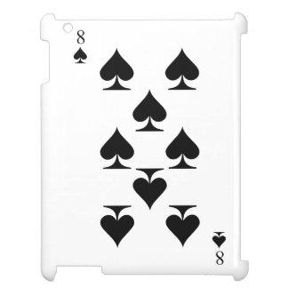 8 of Spades iPad Case