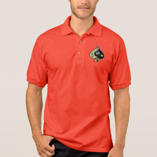 8 of Spades Polo Shirt