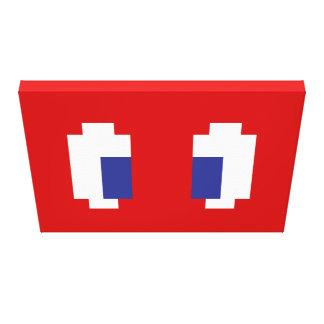 8 ojos de Manga del pixel del pedazo Lienzo Envuelto Para Galerías
