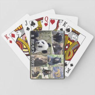 8 osos para siempre barajas de cartas
