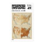 8 población rural, tamaño de las familias 1890 sello