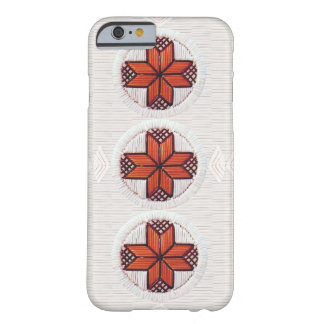 8 Pointed Stars with Fans Barely There iPhone 6 Case