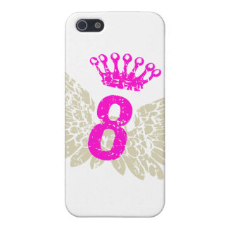 #8 Raspberry Wings Case For iPhone SE/5/5s