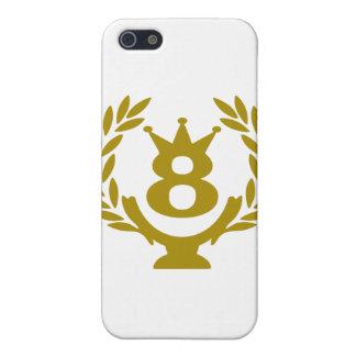 8 real-coppa-corona.png iPhone 5 funda