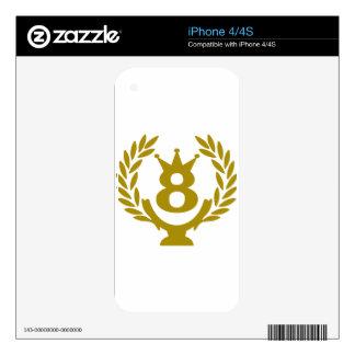 8 real-coppa-corona.png skins para iPhone 4S