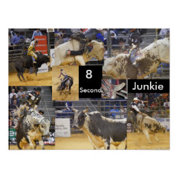 8 Second Junkie Poster