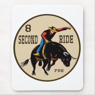 8 Second Ride Mousepad
