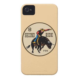 """8 Second Ride"" Western Blackberry Case"