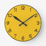 8 sombras de reloj amarillo