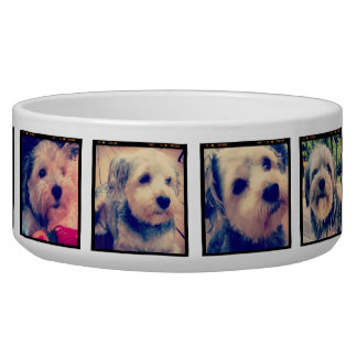 8 Square Photo Collage Instagram Frames Bowl