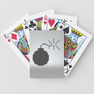 8 tarjetas del pedazo baraja
