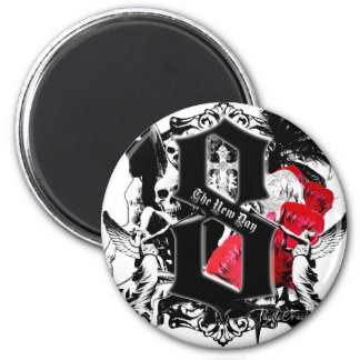 8- The New Day by Pacific Oracle 2 Inch Round Magnet