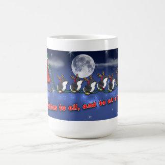 8 Tiny Penguins Mug