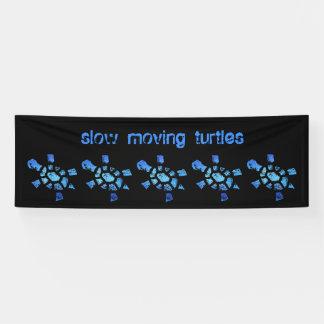 8' tortugas de movimiento lento del agua azul de lona