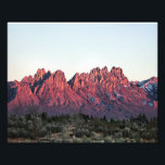 "8&quot;x10&quot; Double Sunset-Organ Mountains Photo Print<br><div class=""desc"">From my popular Organ Mountains Series of photographs. This 8&quot;x10&quot;  is printed on  Kodak Professional Photo Paper (Satin) and is unmatted.</div>"