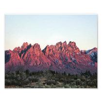 "8""x10"" Double Sunset-Organ Mountains Photo Print"