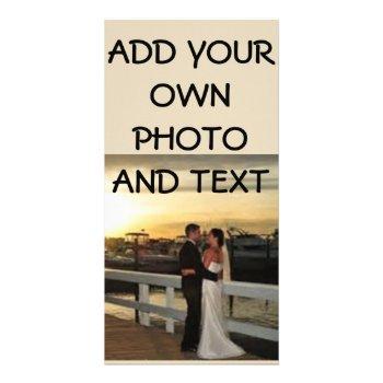 8 X 4 Wedding Photo Postcard by CREATIVEWEDDING at Zazzle