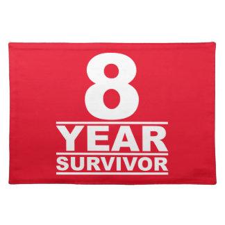 8 year survivor placemat