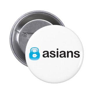 8Asians Button