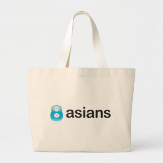 8Asians Totebag Canvas Bags