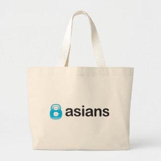 8Asians Totebag Jumbo Tote Bag