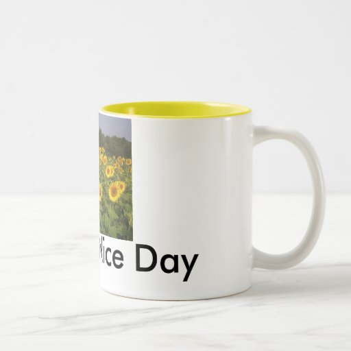 8bab Have A Nice Day Two Tone Coffee Mug Zazzle