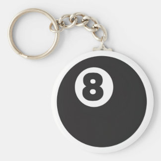 8ball - Customized Keychains