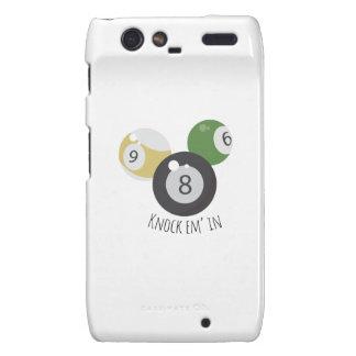 8Ball Knockemin Motorola Droid RAZR Cover