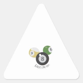 8Ball Rackem Triangle Sticker
