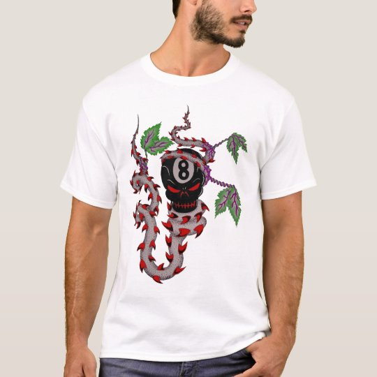 8BALL SKULL T-Shirt