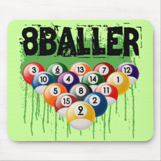 8BALLER MOUSE PAD