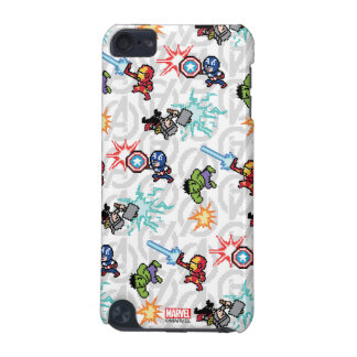 8Bit Avengers Attack iPod Touch 5G Cases