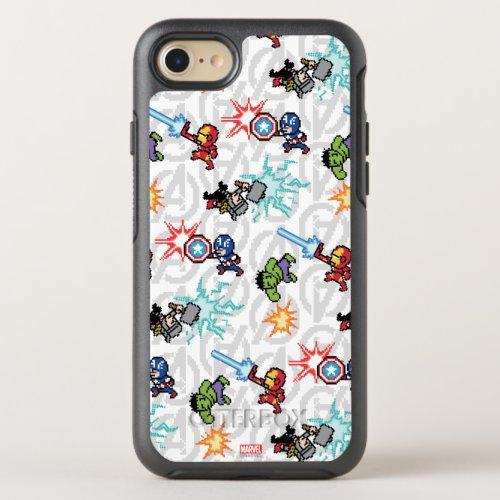 8Bit Avengers Attack Phone Case