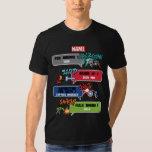 8Bit Avengers Attack T Shirt