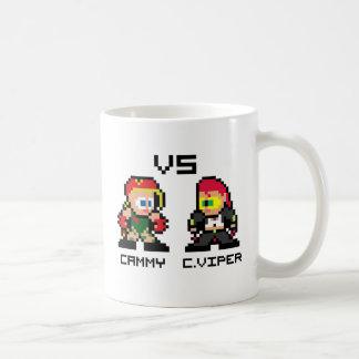 8bit Cammy VS C.Viper Coffee Mugs