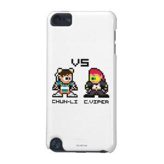 8bit Chun-Li CONTRA C.Viper Funda Para iPod Touch 5G