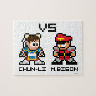 8bit Chun-Li VS M.Bison Jigsaw Puzzle