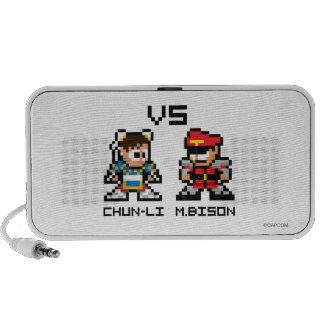 8bit Chun-Li VS M Bison Mp3 Speakers