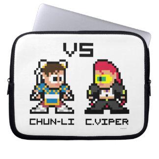 8bit ChunLi VS C.Viper Laptop Computer Sleeve