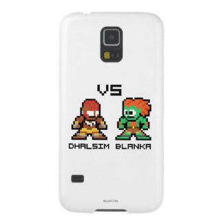 8bit Dhalsim VS Blanka Galaxy S5 Case