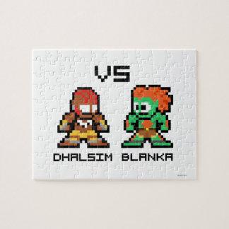 8bit Dhalsim VS Blanka Jigsaw Puzzle