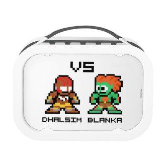 8bit Dhalsim VS Blanka Yubo Lunch Box