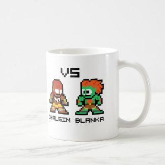 8bit Dhalsim VS Blanka Mug
